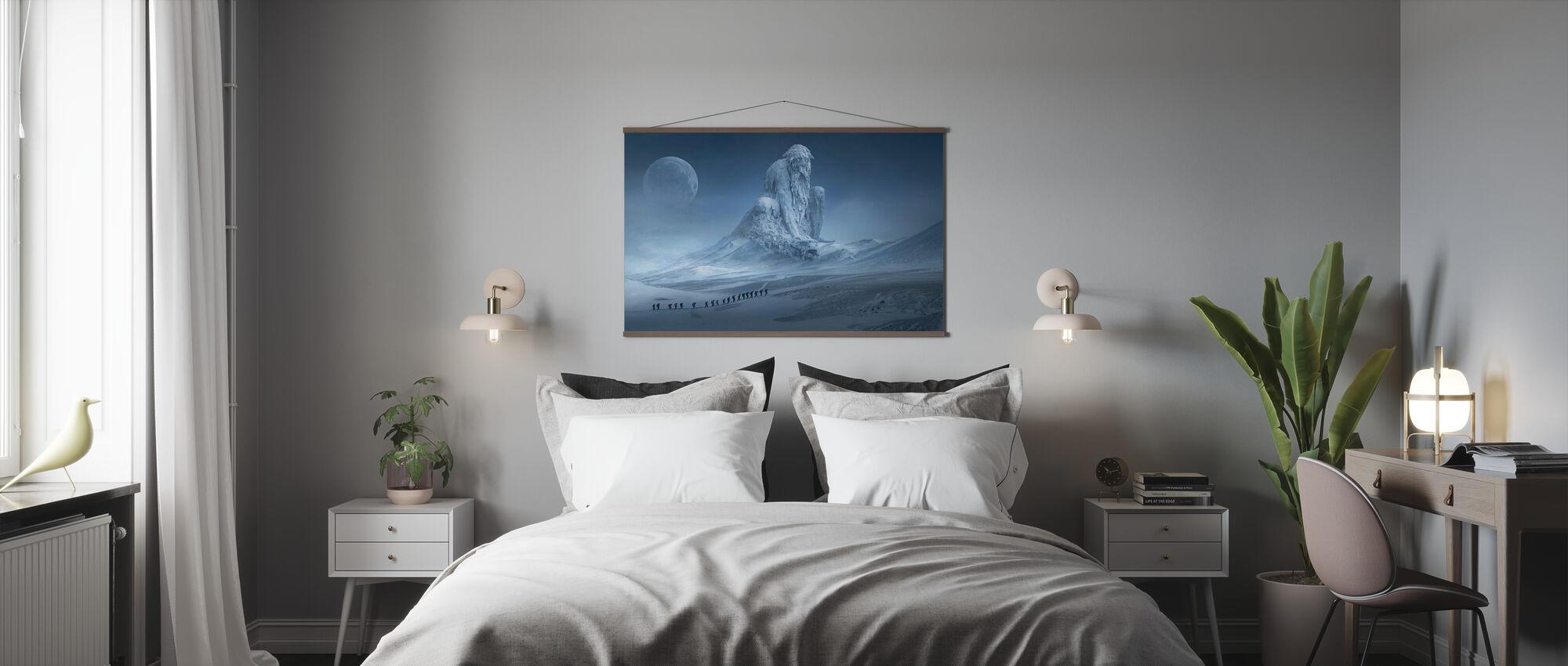 Fantasy Snow Landscape - Poster - Bedroom