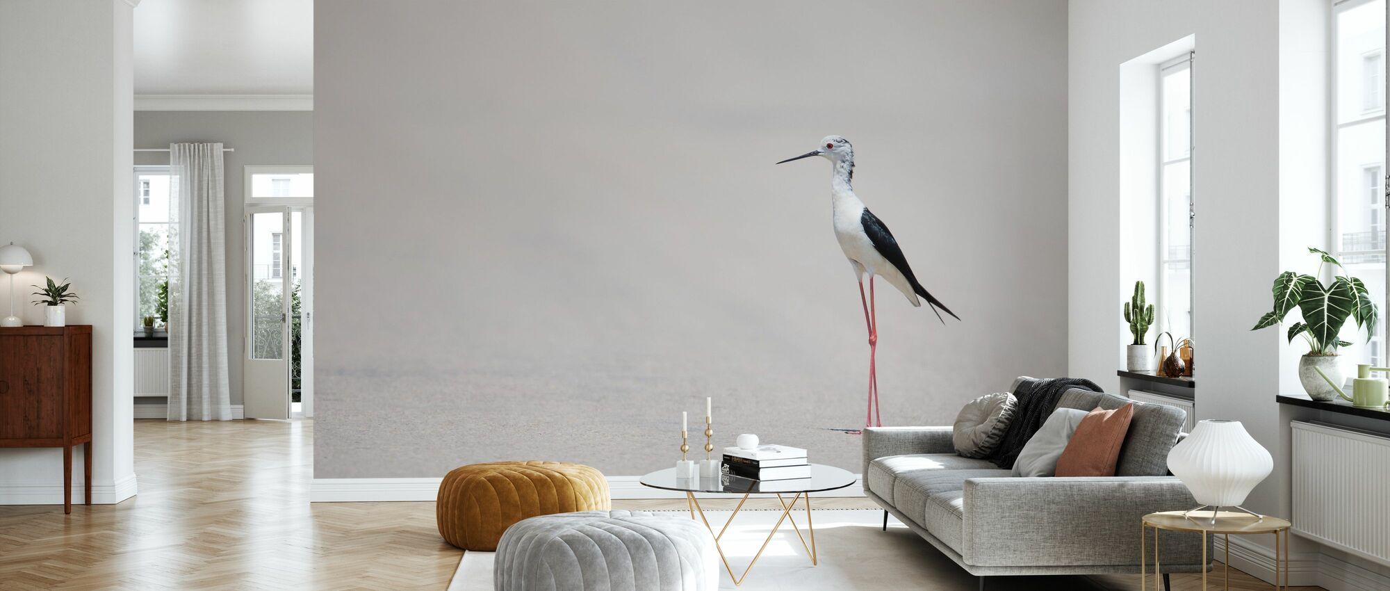 Bird at the Beach - Wallpaper - Living Room