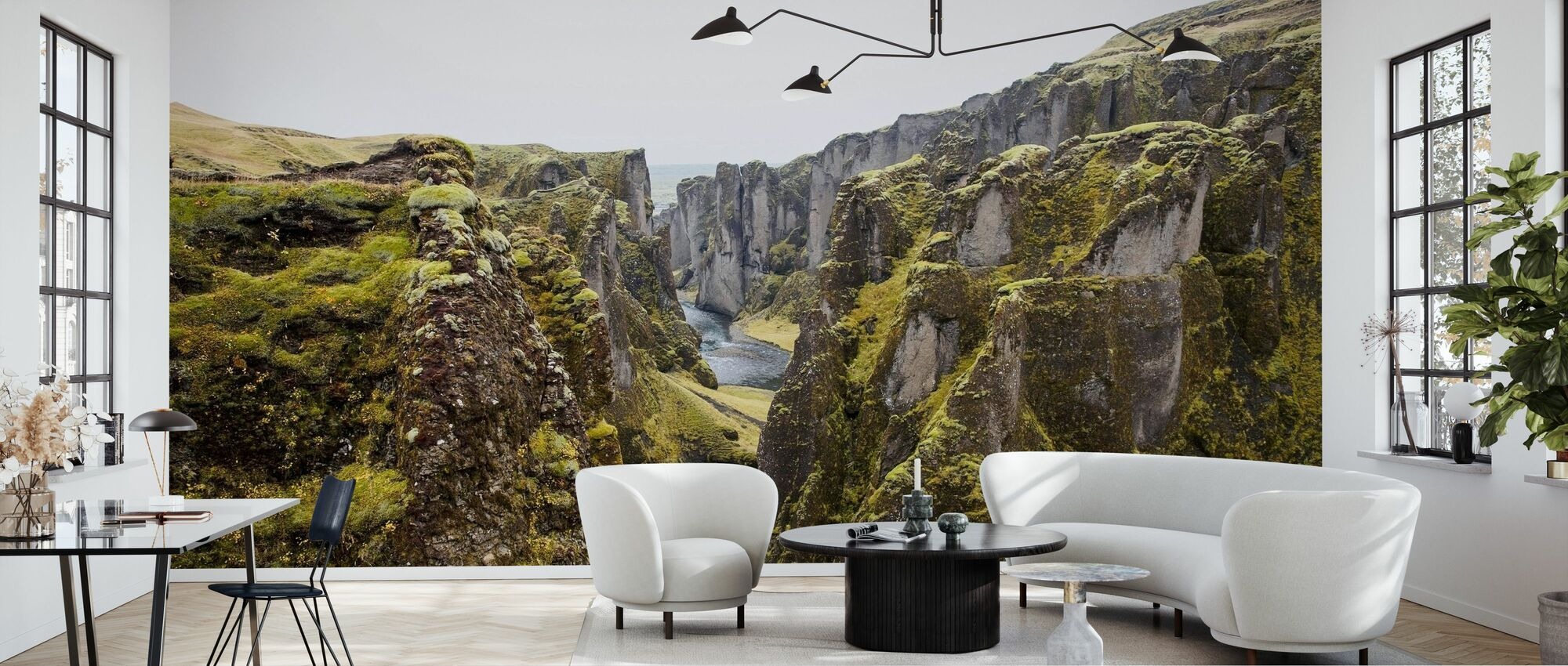 Canyon Rift - Wallpaper - Living Room