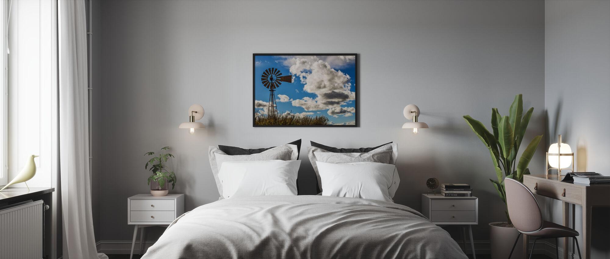 Kapparis Windmill - Poster - Bedroom
