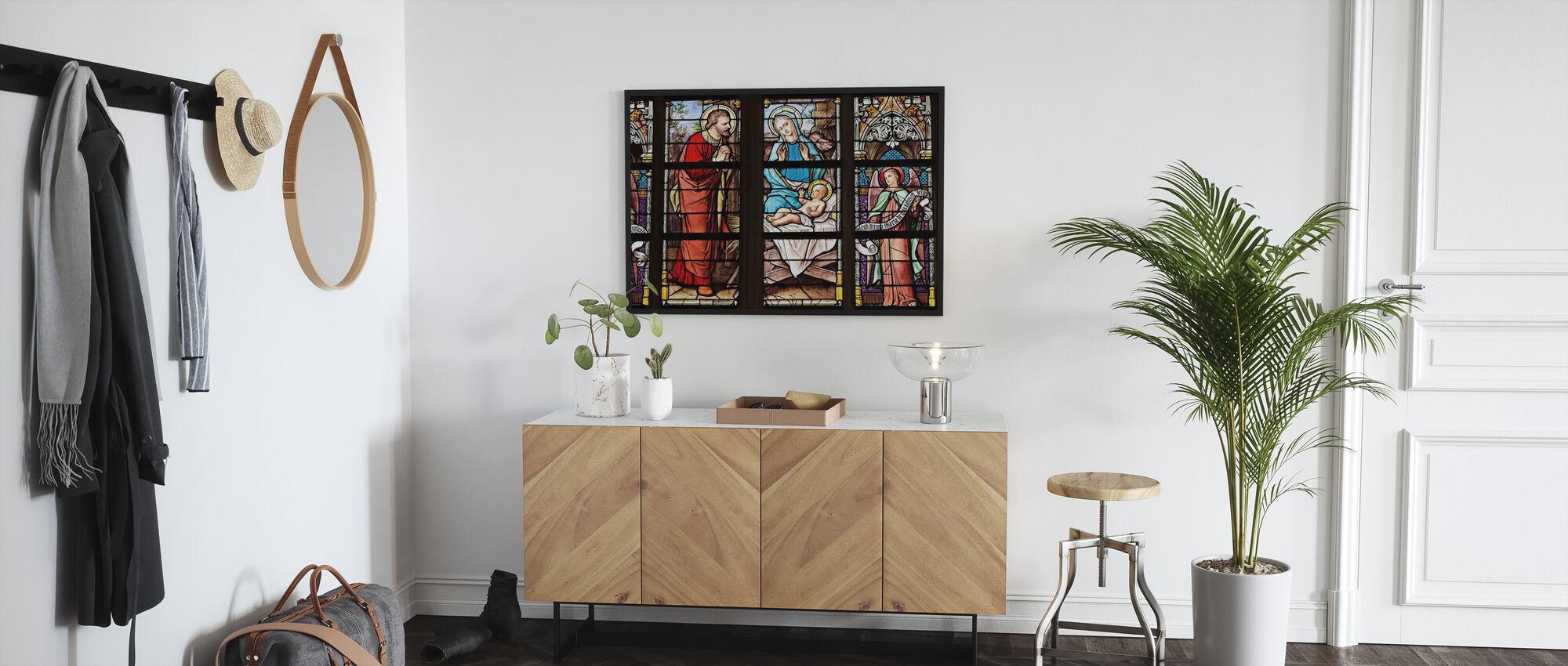Church Window - Poster - Hallway
