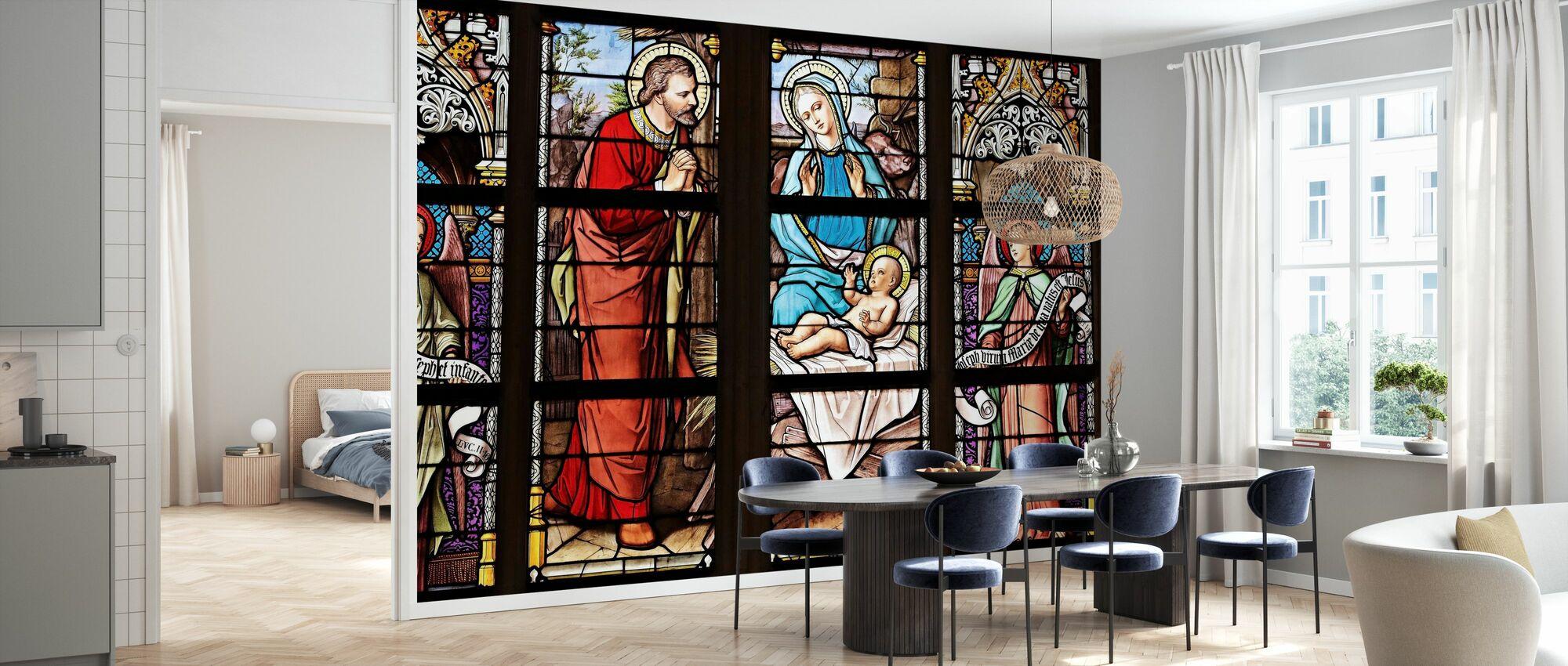 Church Window - Wallpaper - Kitchen