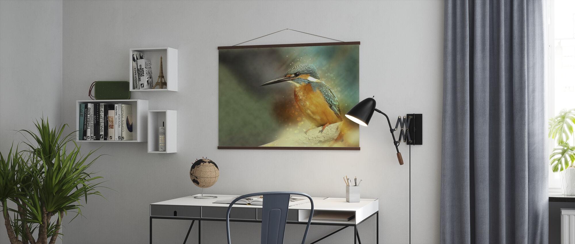 Kingfisher - Juliste - Toimisto