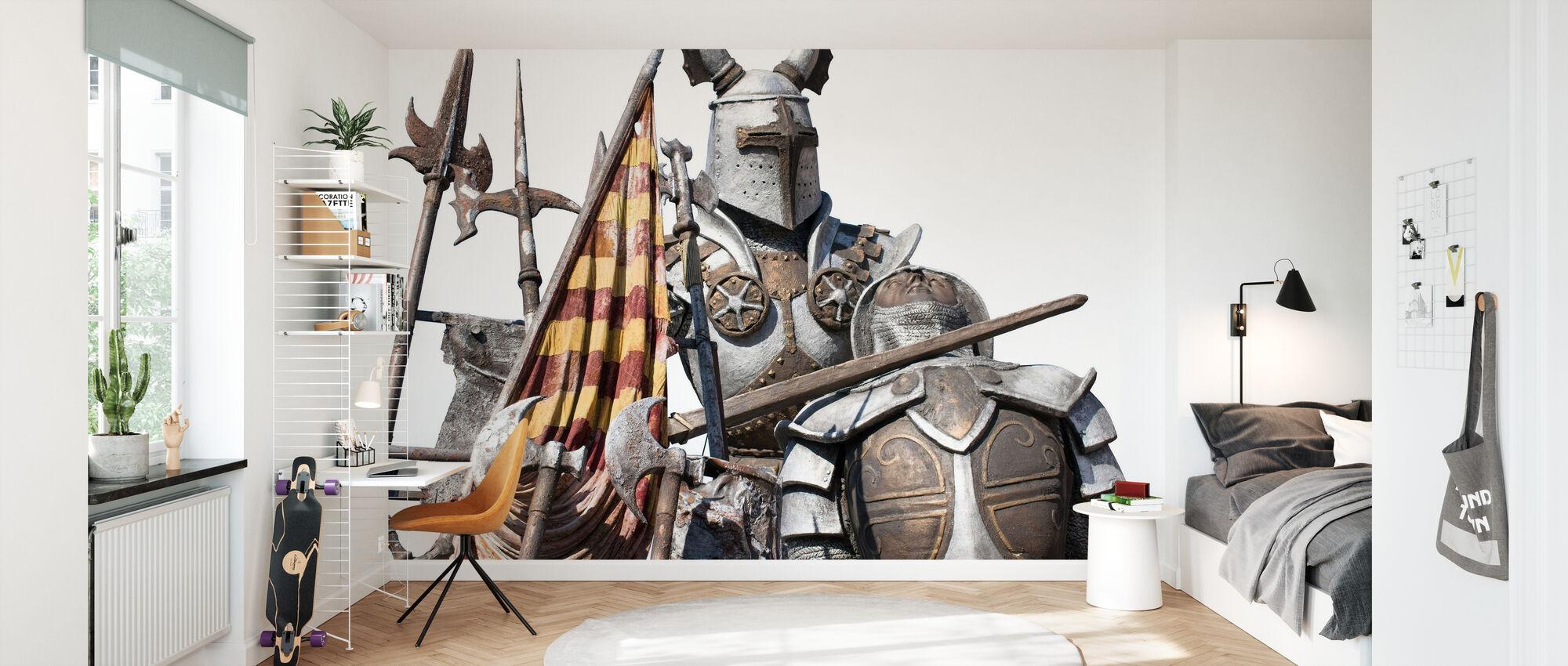 Medieval Monument - Wallpaper - Kids Room
