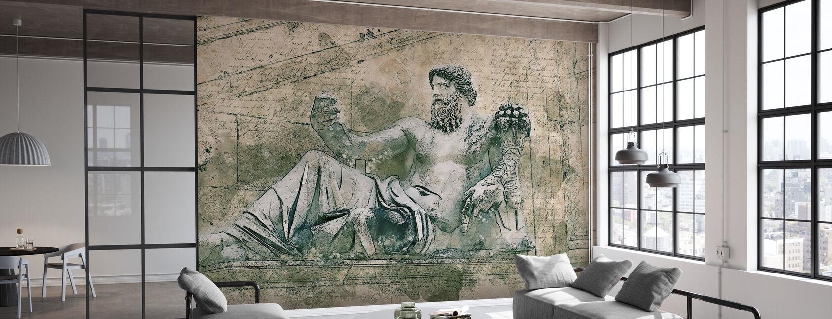 Rom Vintage Staty - Tapet - Kontor