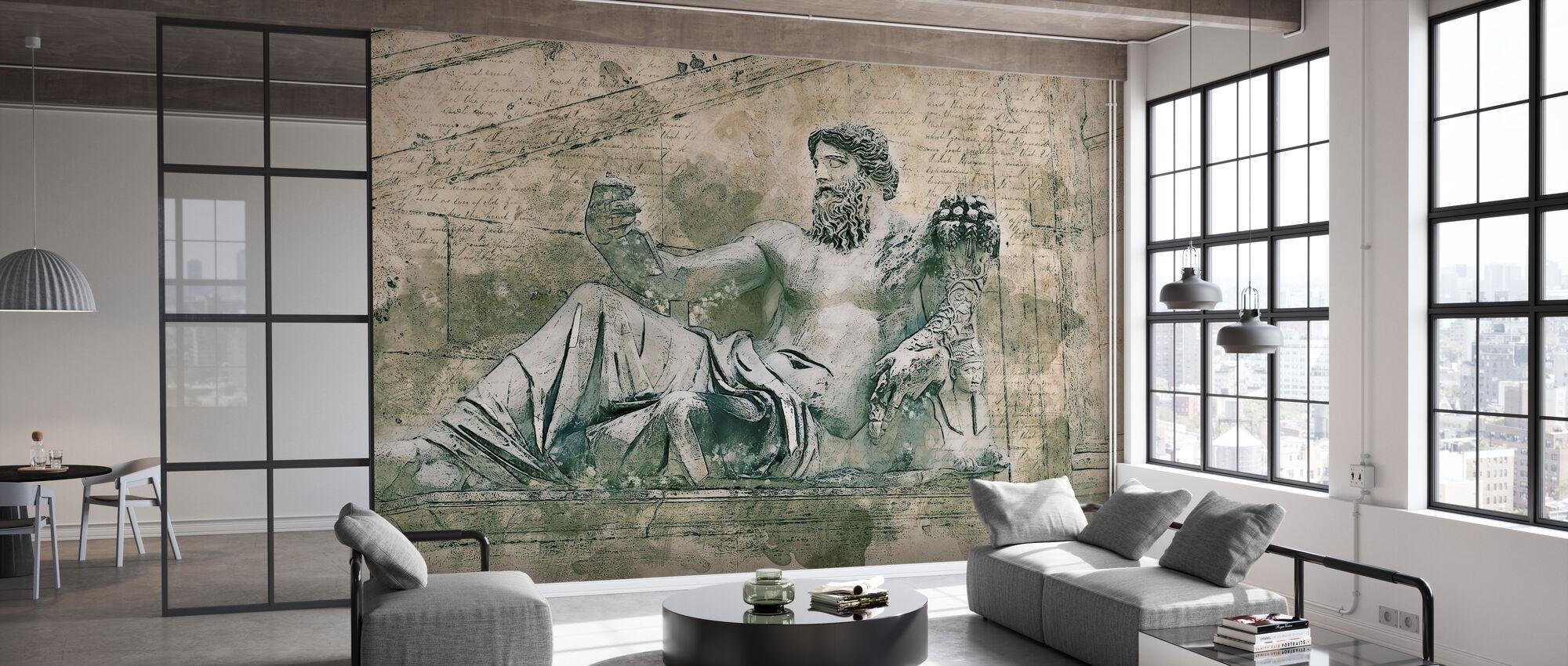 Rom Vintage Statue - Tapete - Büro