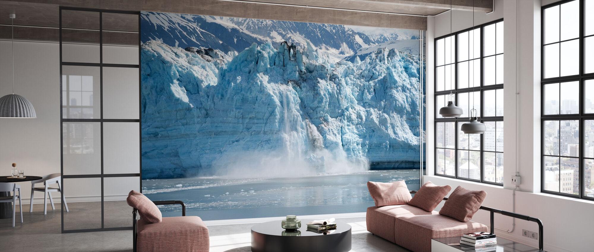 Glacier Calving - Wallpaper - Office