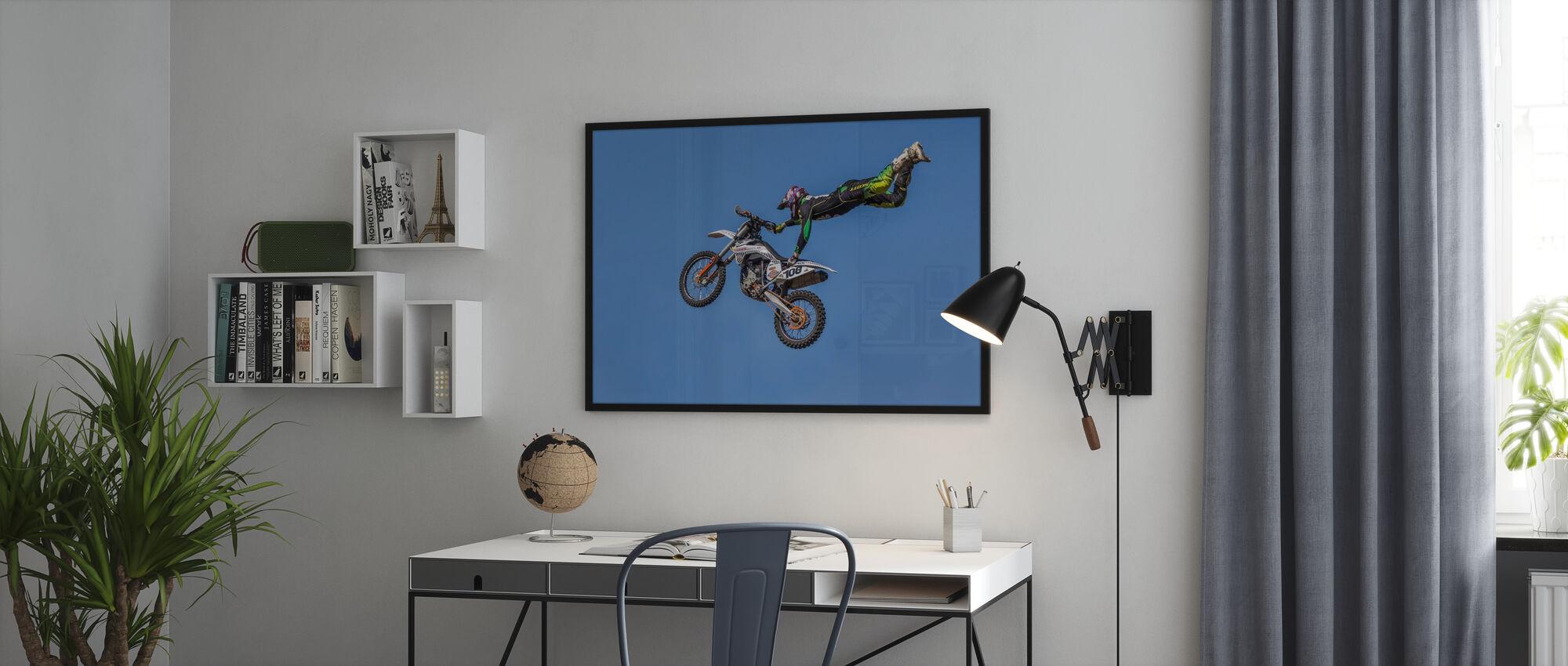 Extreme motorsport - Ingelijste print - Kantoor