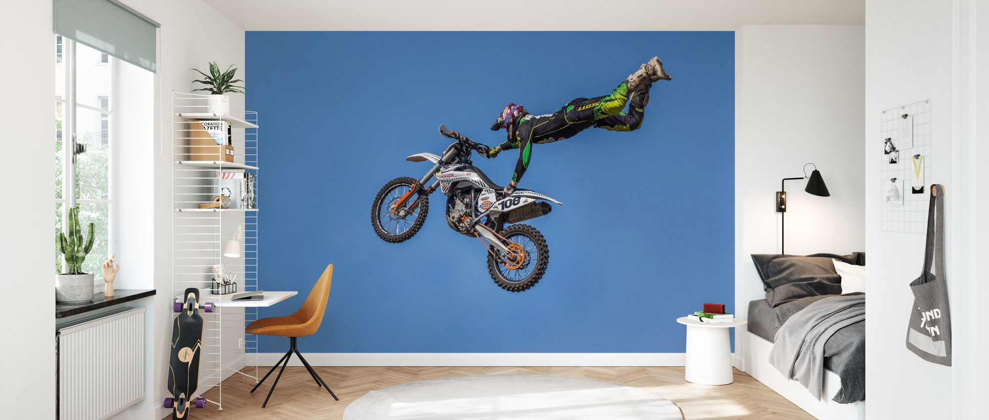 Extreme Motorcycle Sports - Wallpaper - Kids Room