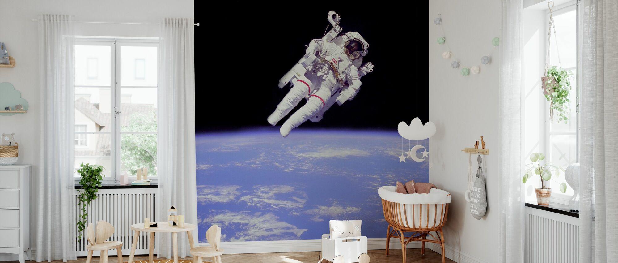Astronaut - Wallpaper - Nursery