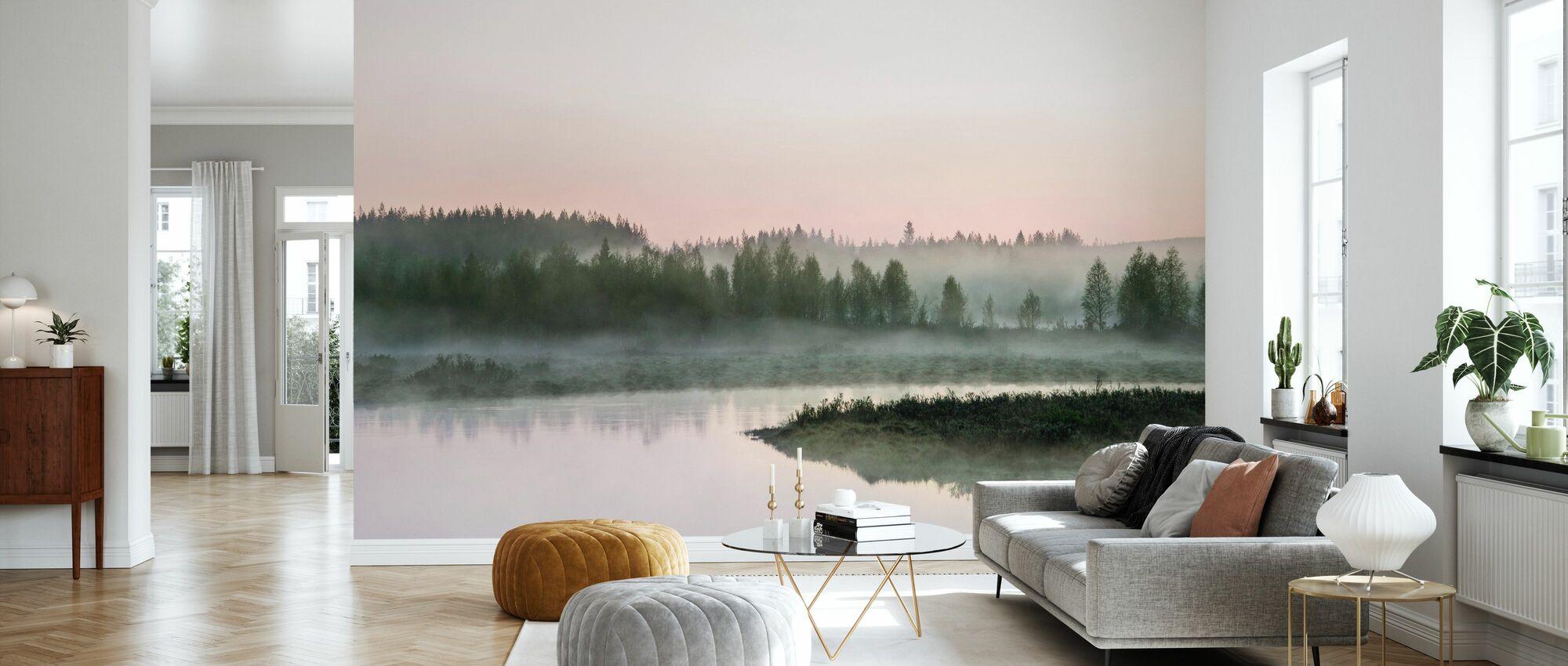 Break of Day - Wallpaper - Living Room
