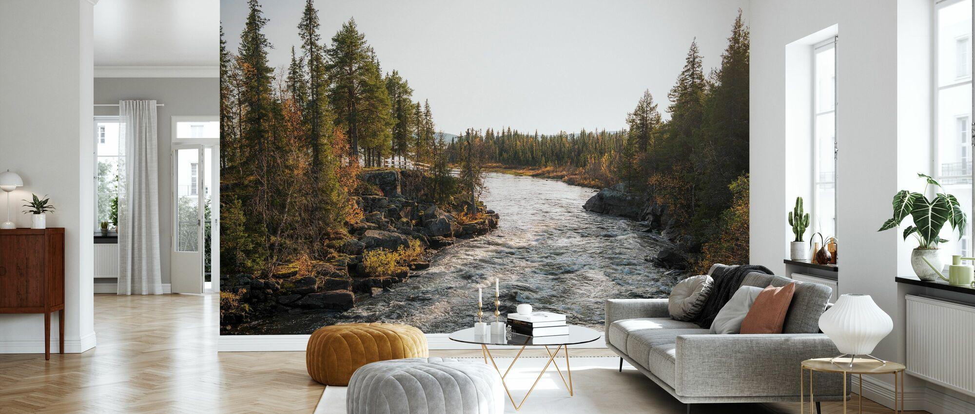 Dance of the River - Wallpaper - Living Room