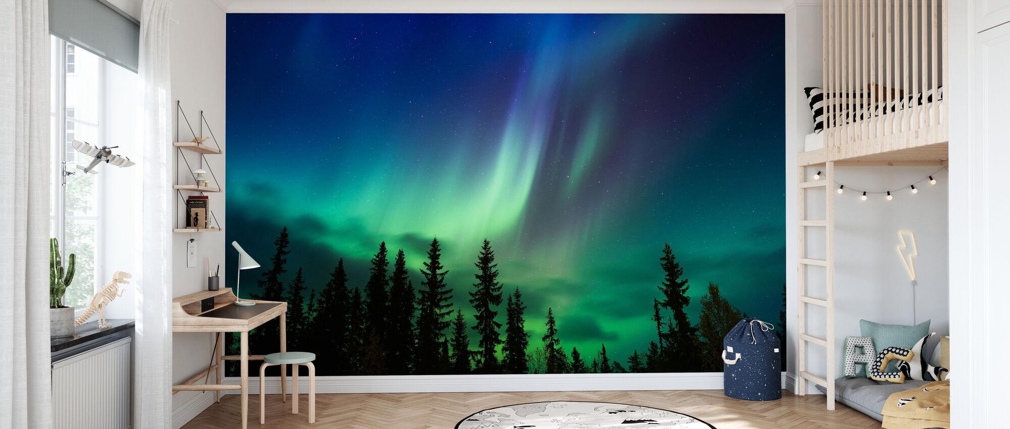 Enlightenment of Night - Wallpaper - Kids Room
