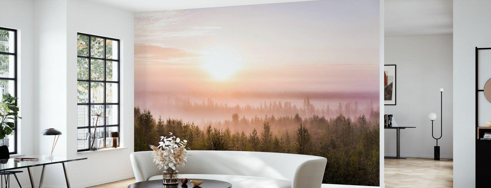 Méditation du matin - Papier peint - Salle à manger