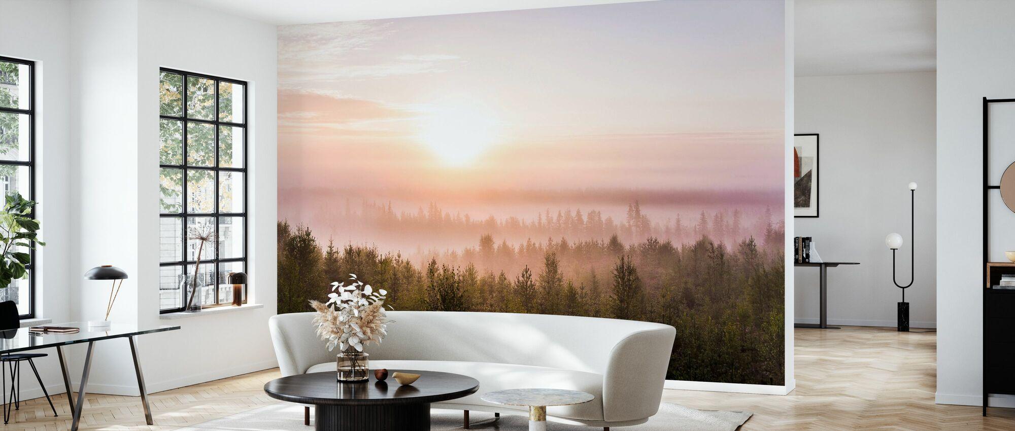 Morning Meditation - Wallpaper - Living Room