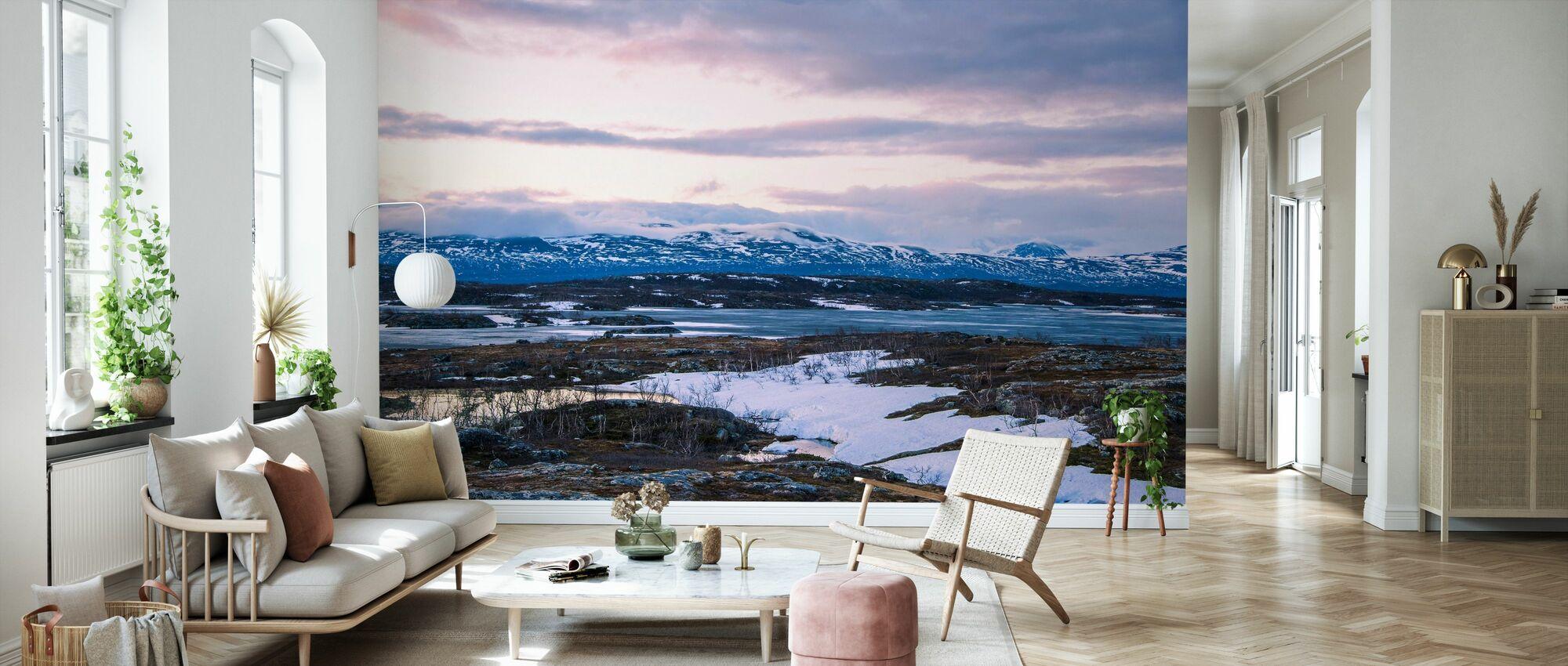 Northern Wilderness - Wallpaper - Living Room