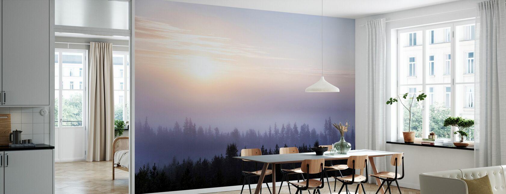 Fredelig soloppgang - Tapet - Kjøkken