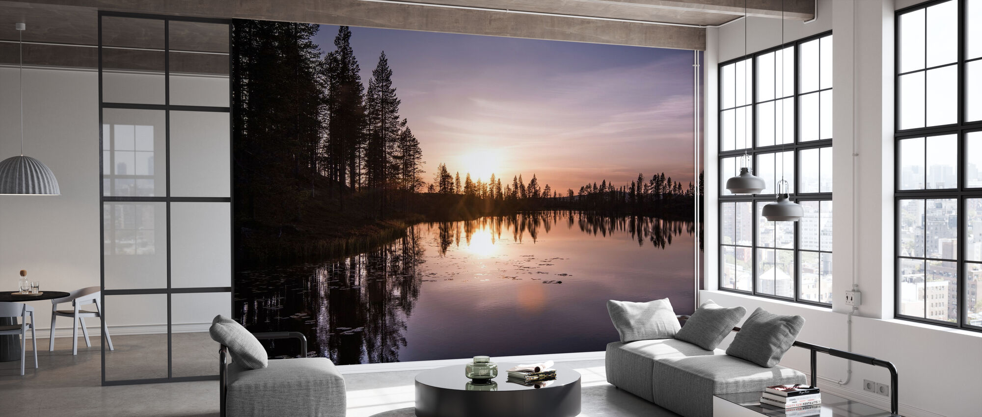 The Lake of Love - Wallpaper - Office