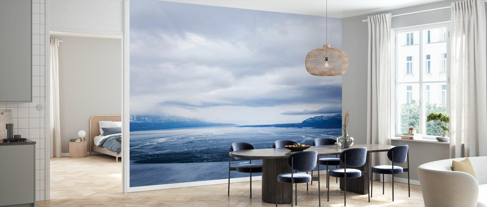 Torne River - Wallpaper - Kitchen