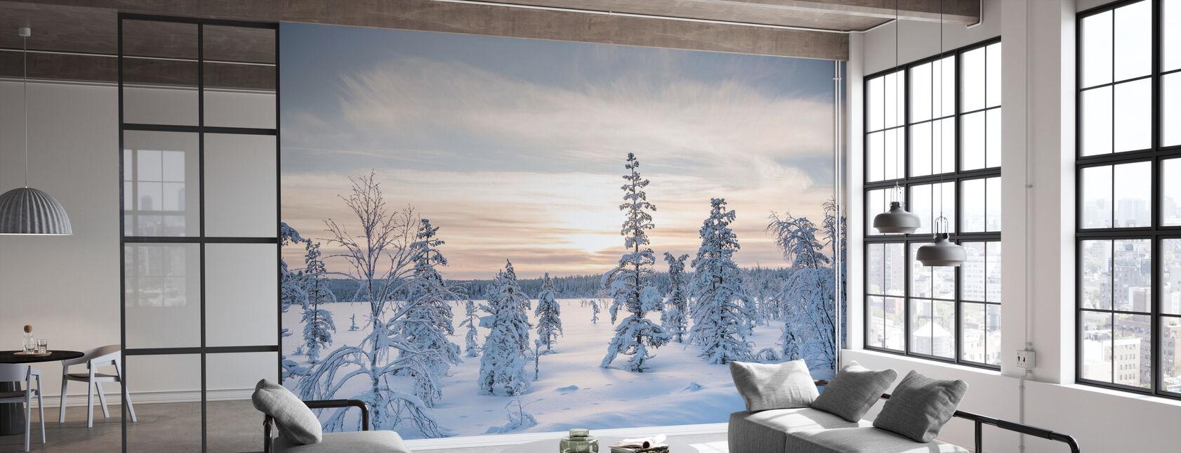 Vinter dag - Tapet - Kontor