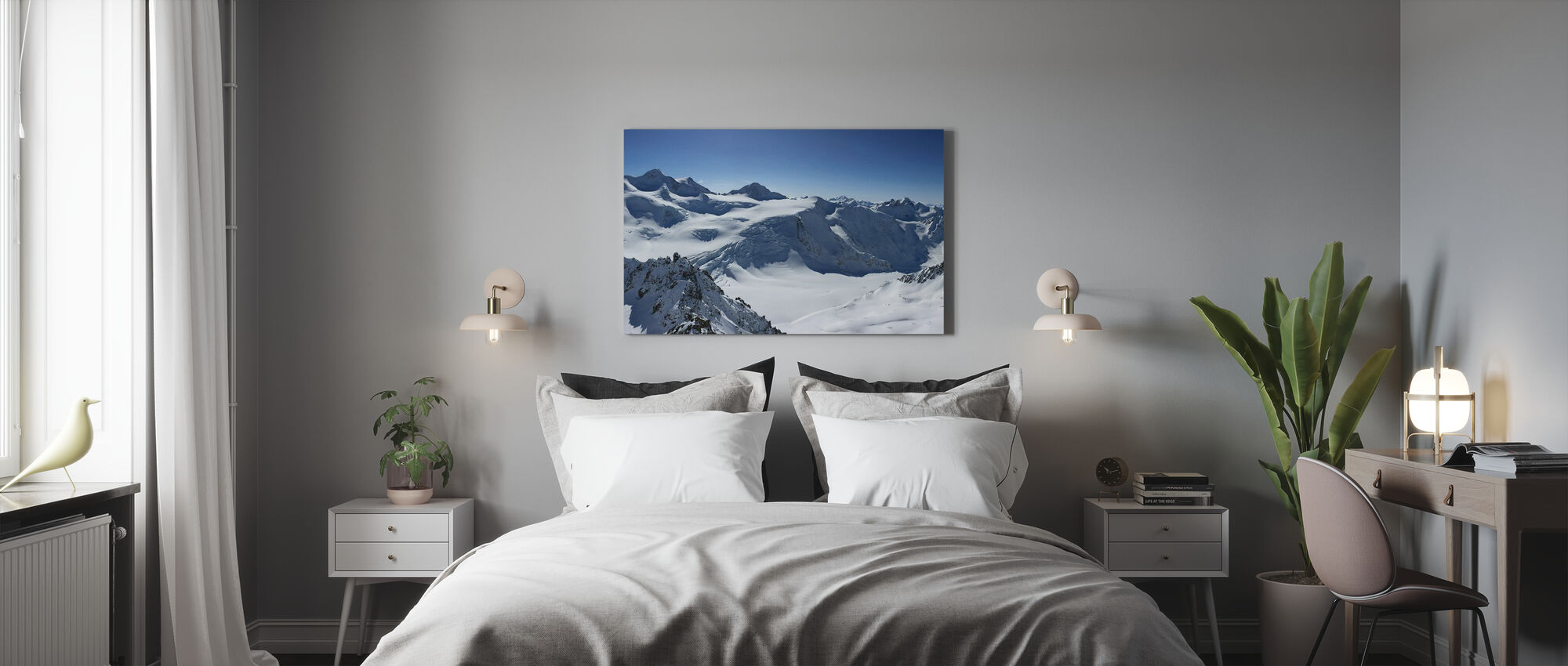 Mountain Summit - Canvas print - Bedroom