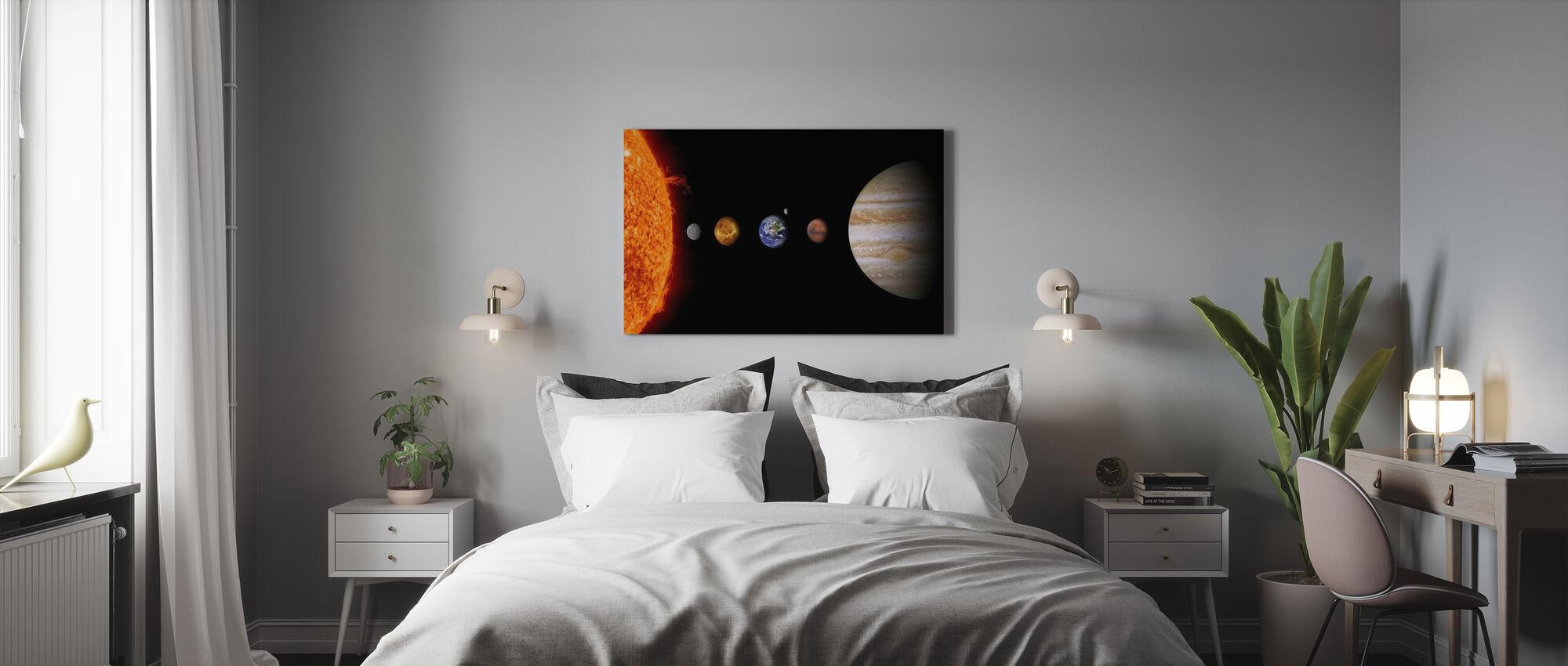 Solsystemet - Lerretsbilde - Soverom