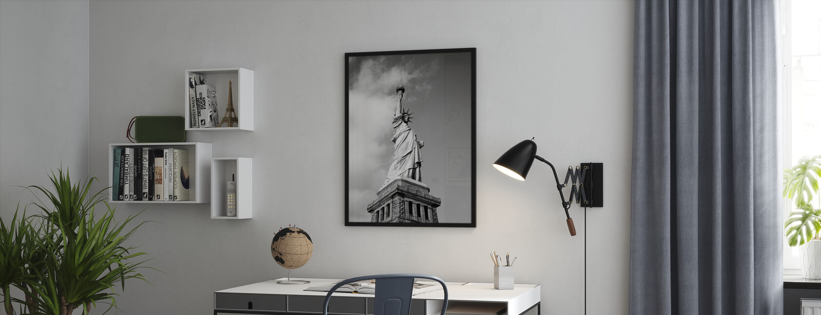 Vintage Frihetsgudinnan - Poster - Kontor