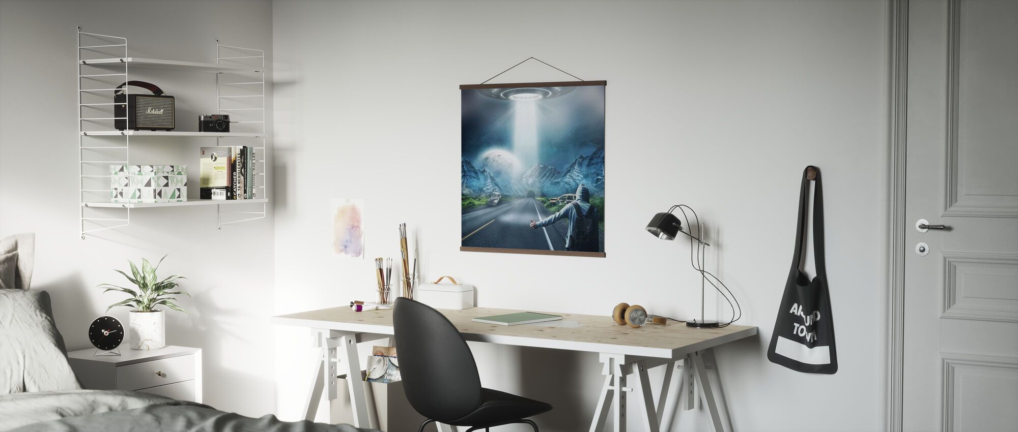 UFO Fantasy - Poster - Office