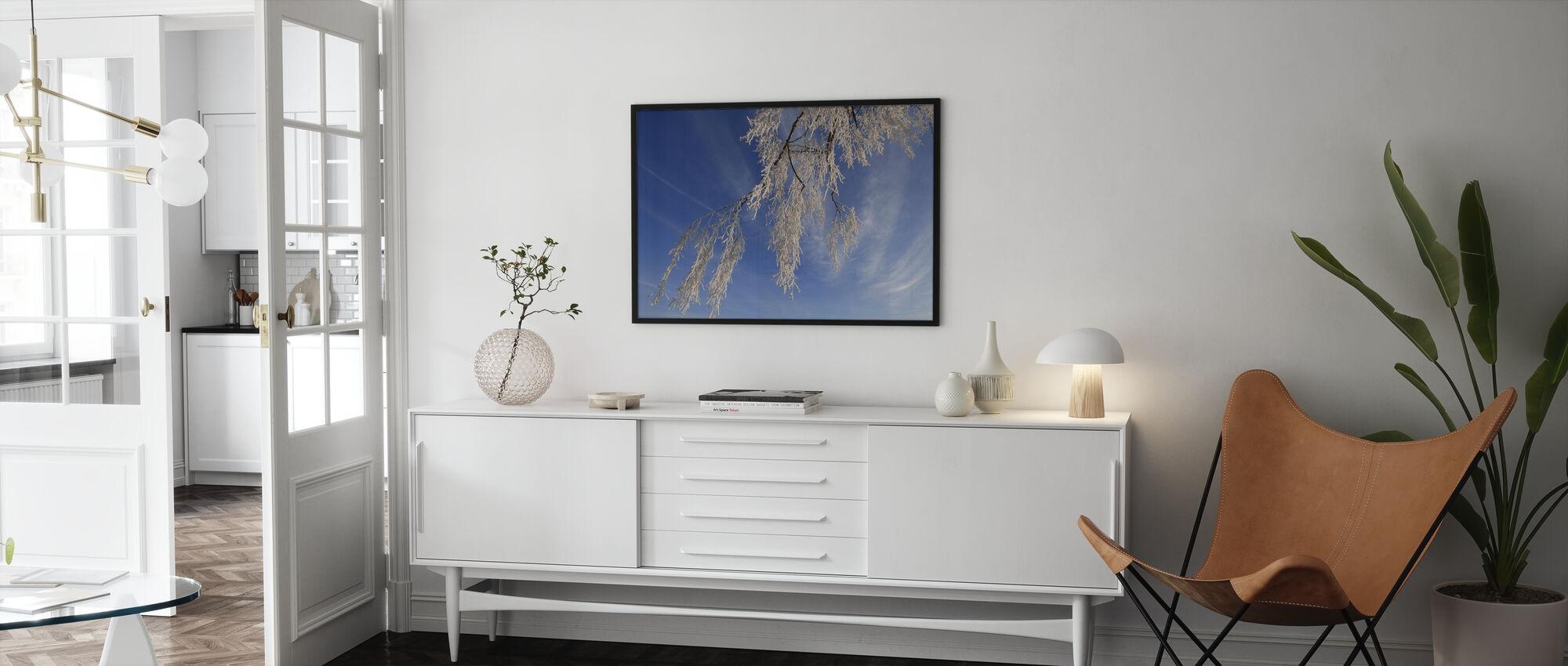 Frozen Branch - Poster - Living Room