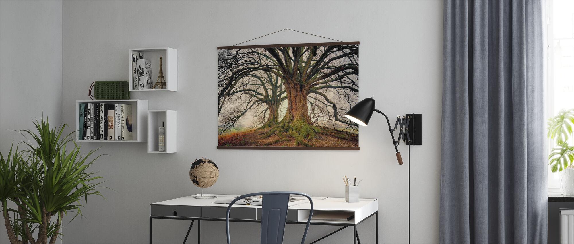 Big Kahl Baum - Poster - Büro