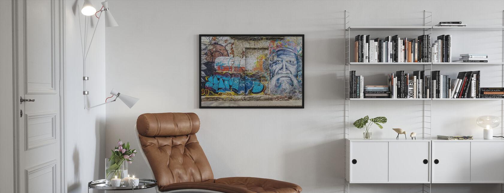 Wall Graffiti - Plakat - Stue