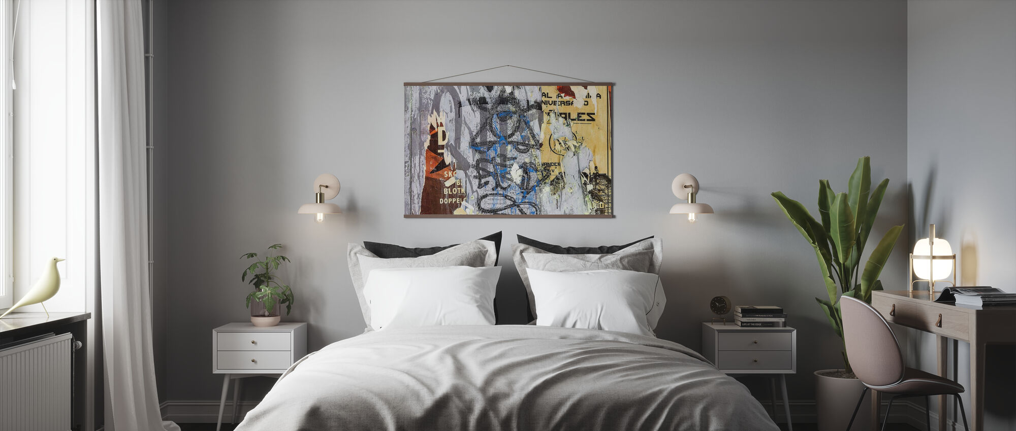 Torn Posters and Graffiti - Poster - Bedroom