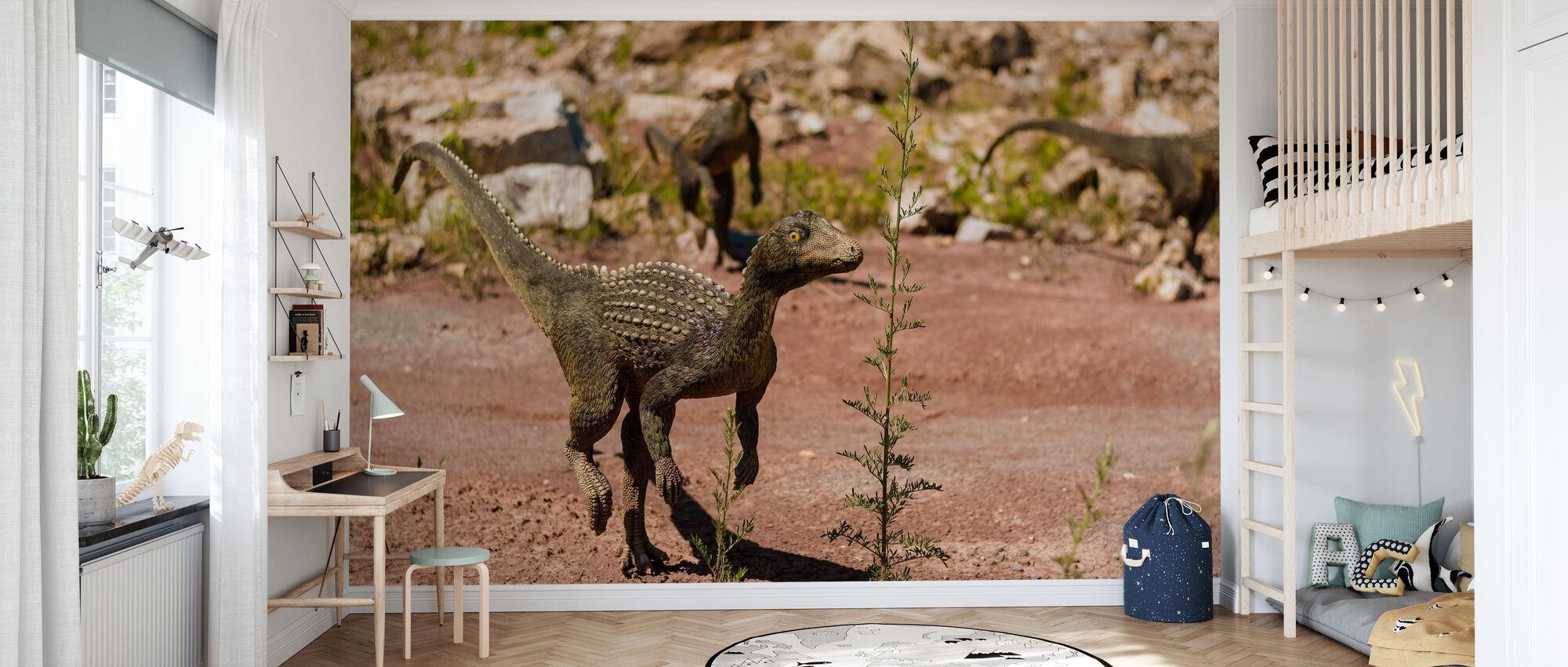 Baby dinosaurer - Tapet - Barnerom