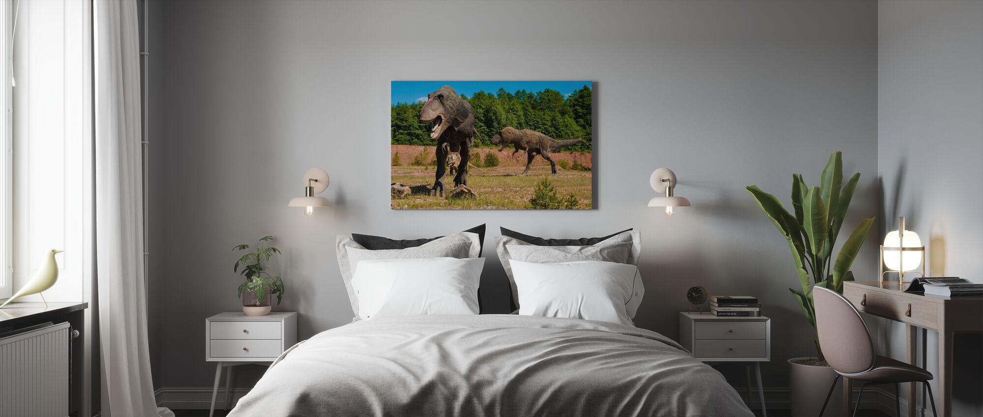 Monstrous Dinosaur - Canvas print - Bedroom