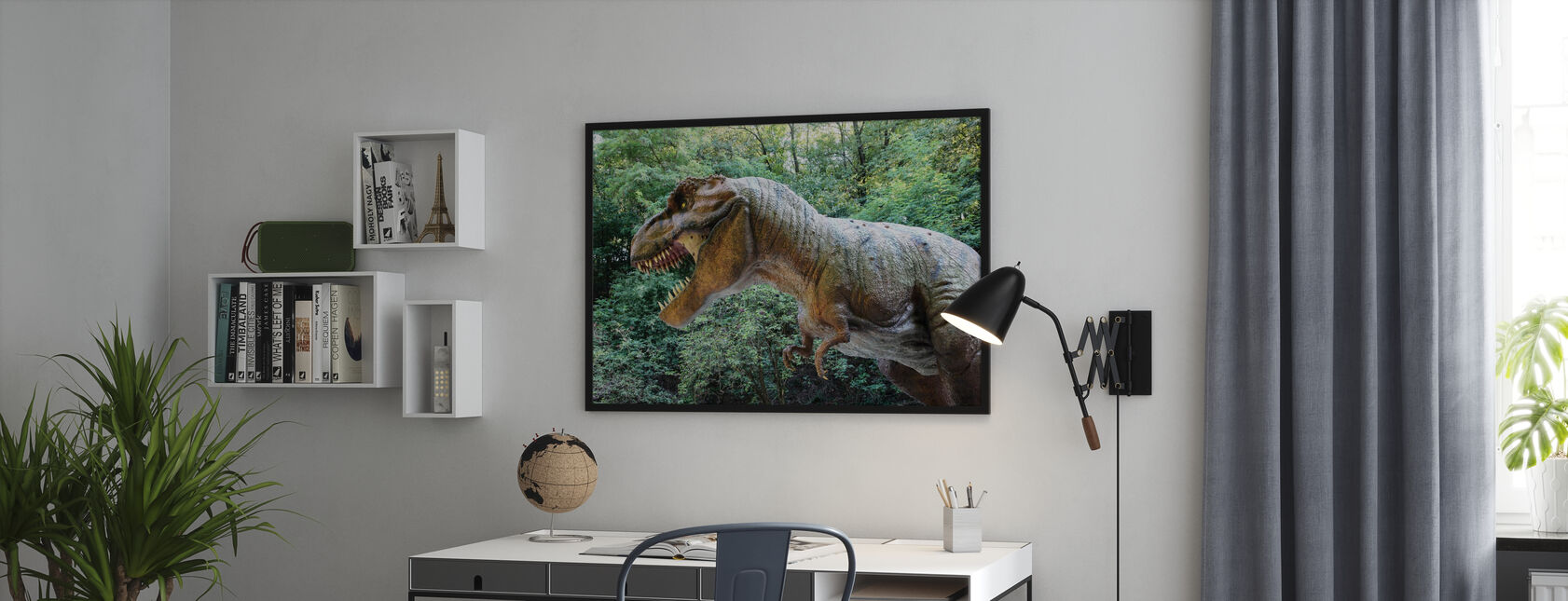 Dødbringende dinosaur - Plakat - Kontor