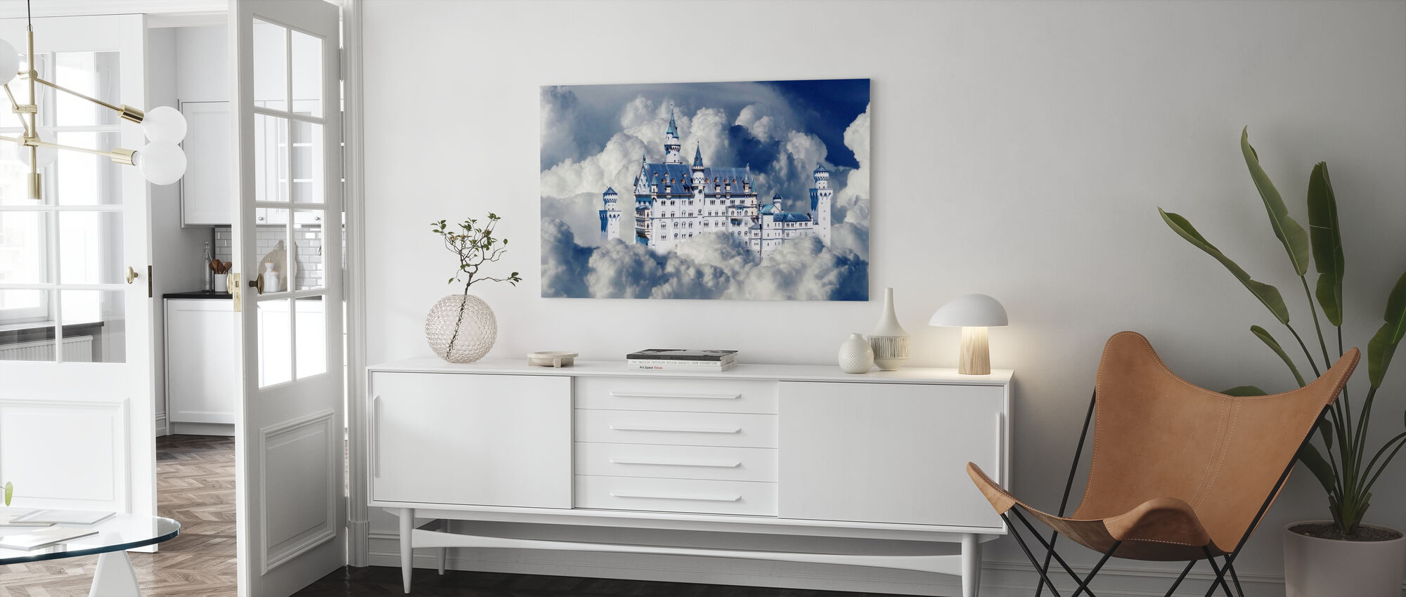 Fairy Tale Castle - Canvas print - Living Room
