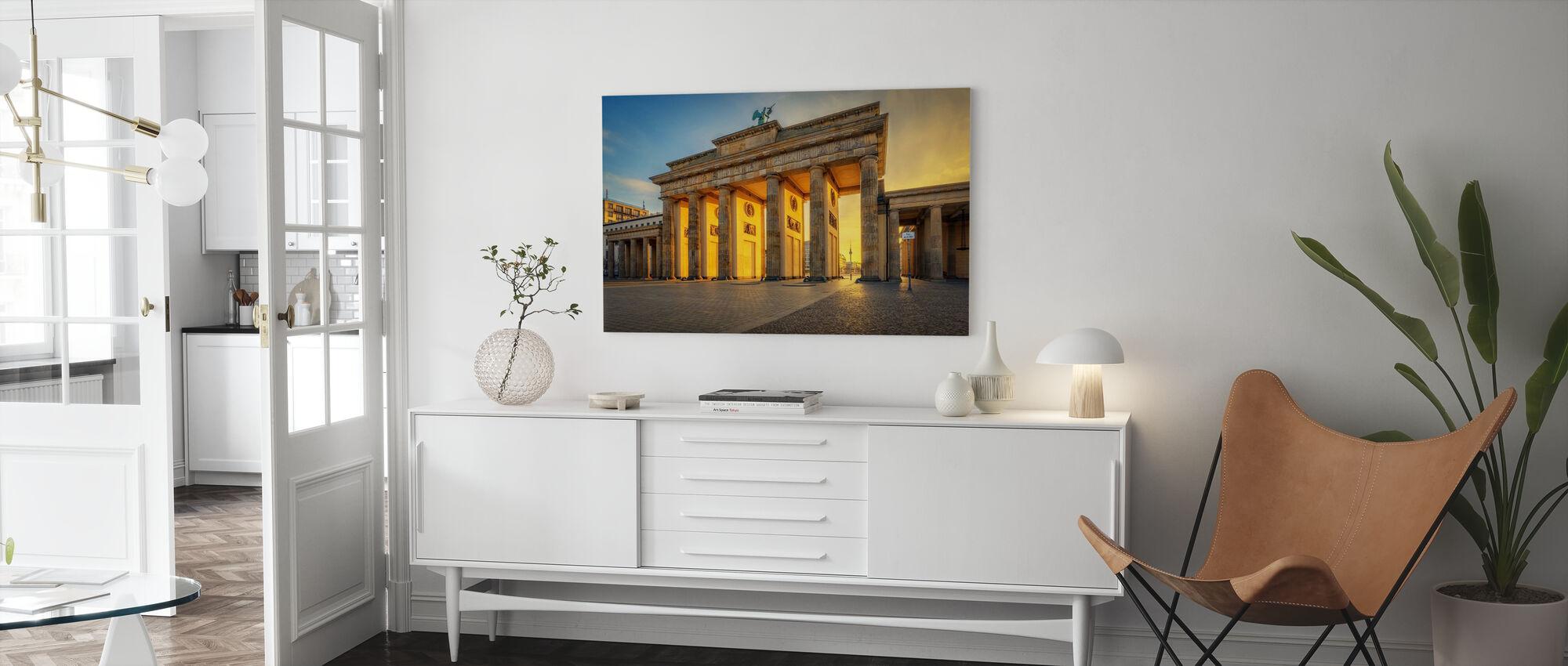 Pillars - Canvas print - Living Room