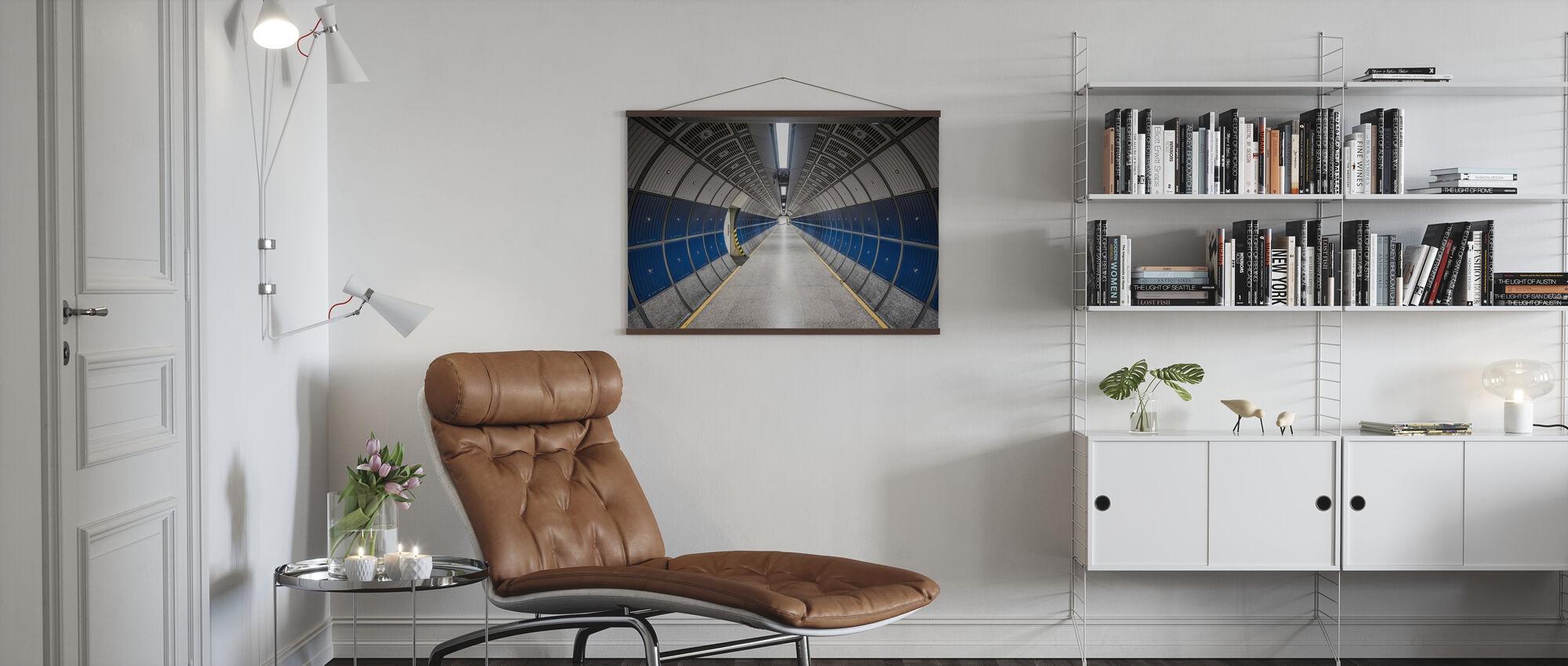 Modern Hallway - Poster - Living Room