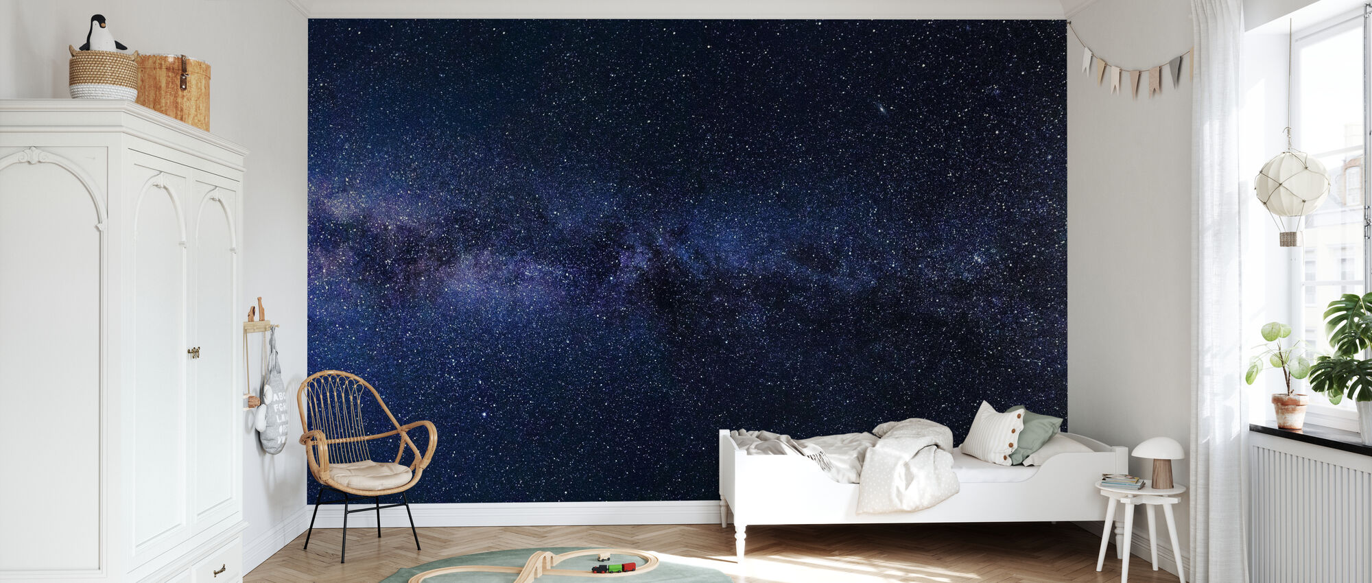 Mystical Starry Sky A Wall Mural For Every Room Photowall