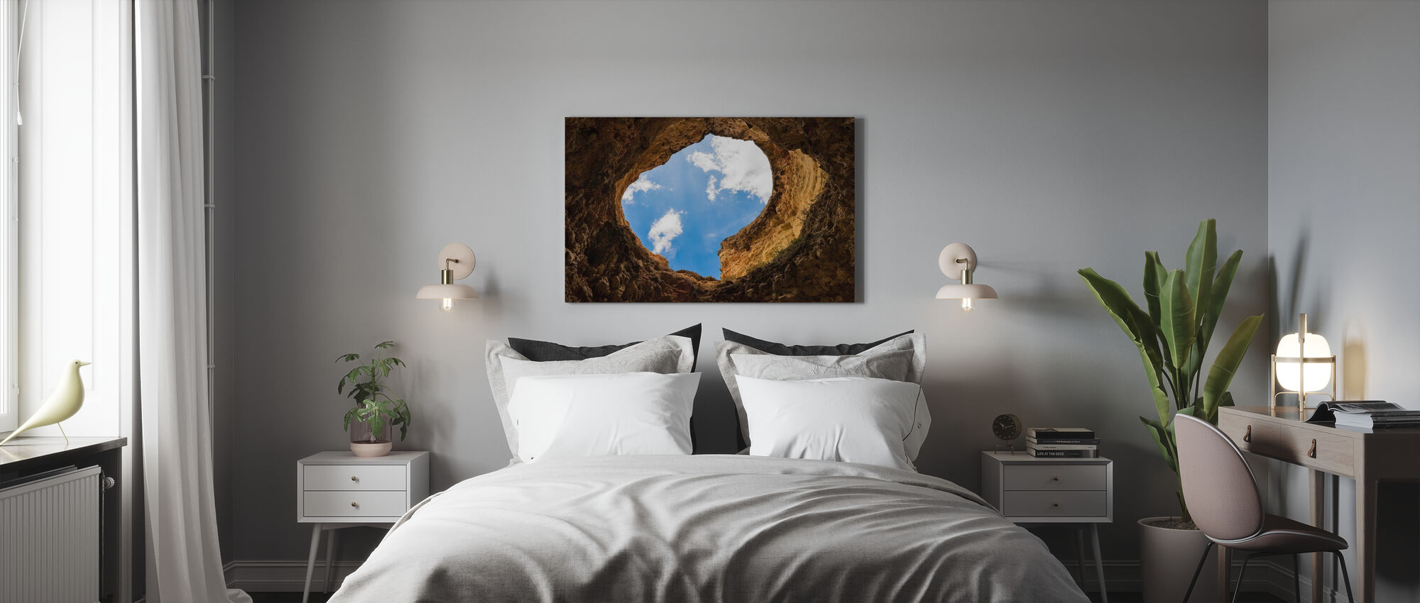 Cave Hole - Canvas print - Bedroom
