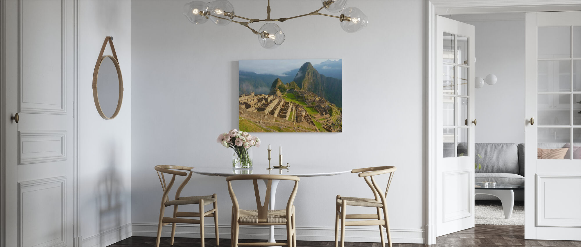 Machu Picchu - Canvas print - Kitchen