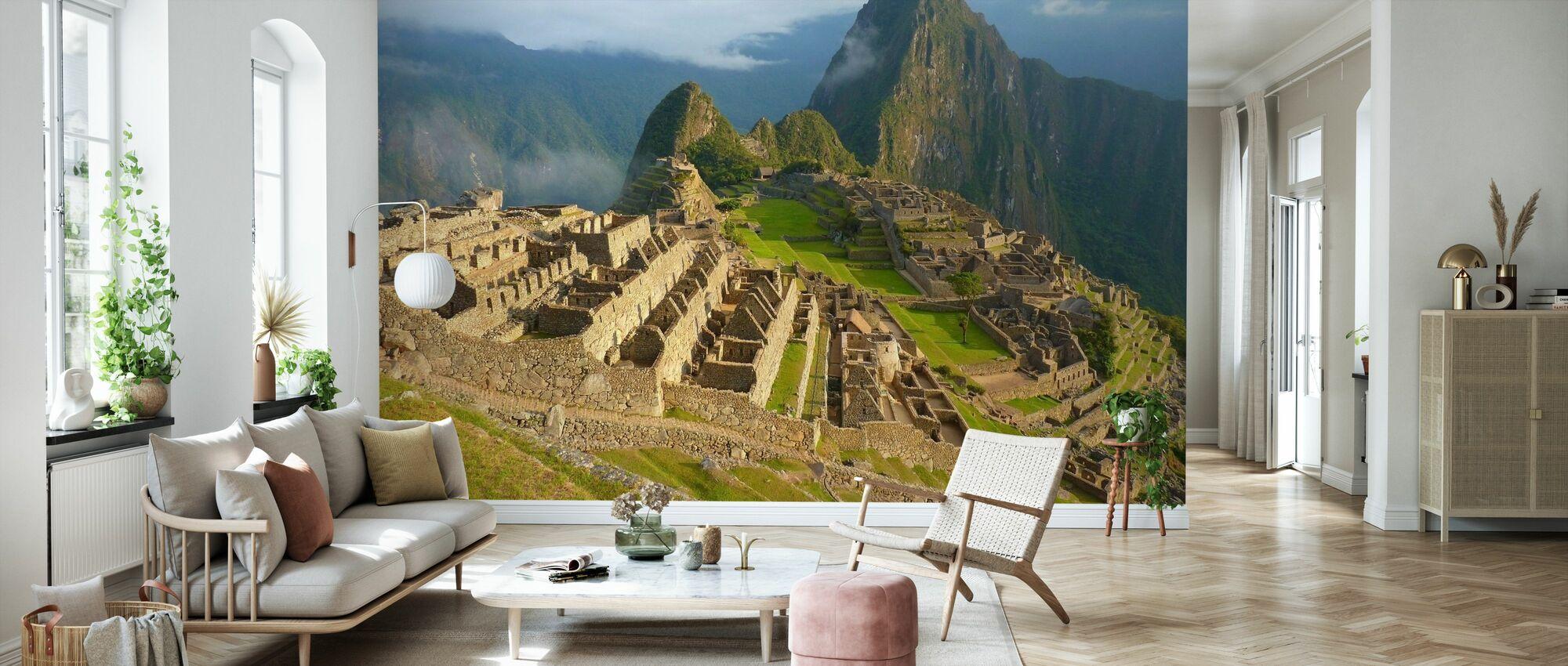 Machu Picchu - Wallpaper - Living Room