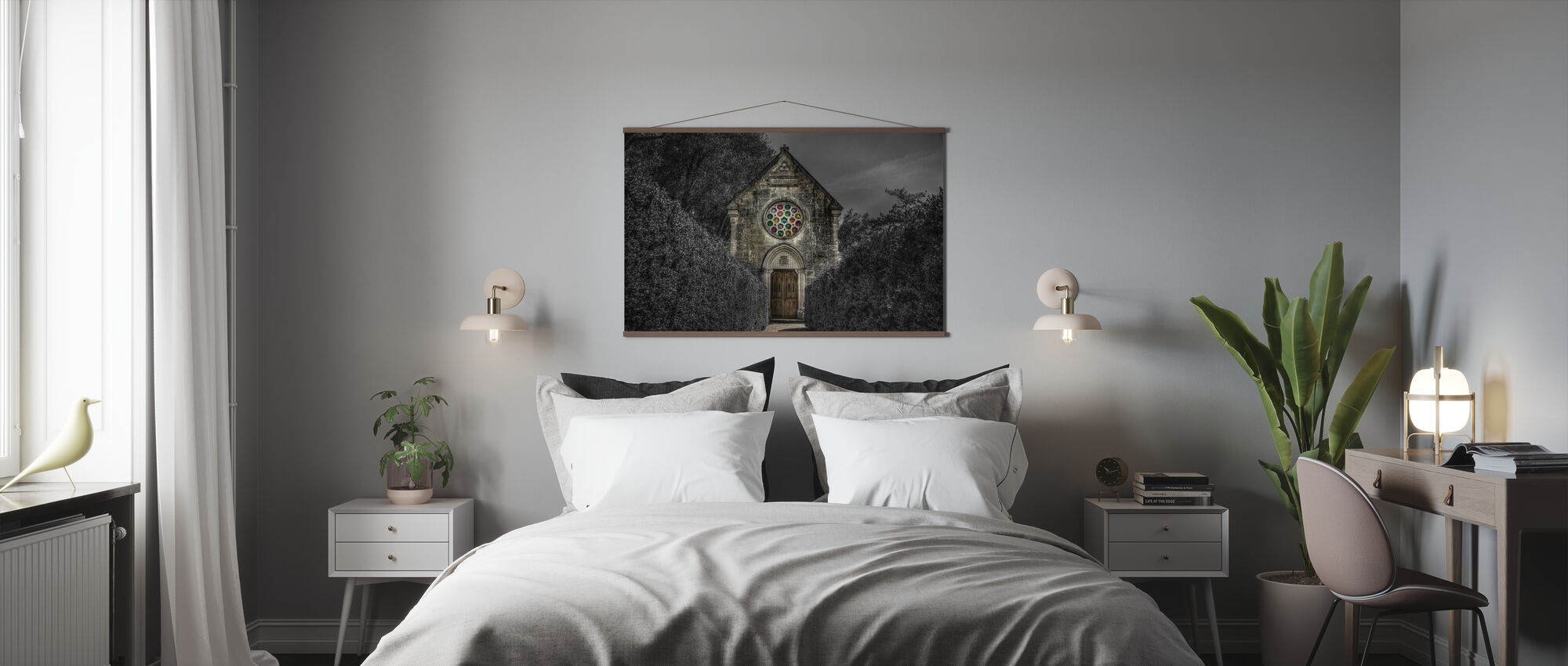 Spooky Church - Poster - Bedroom