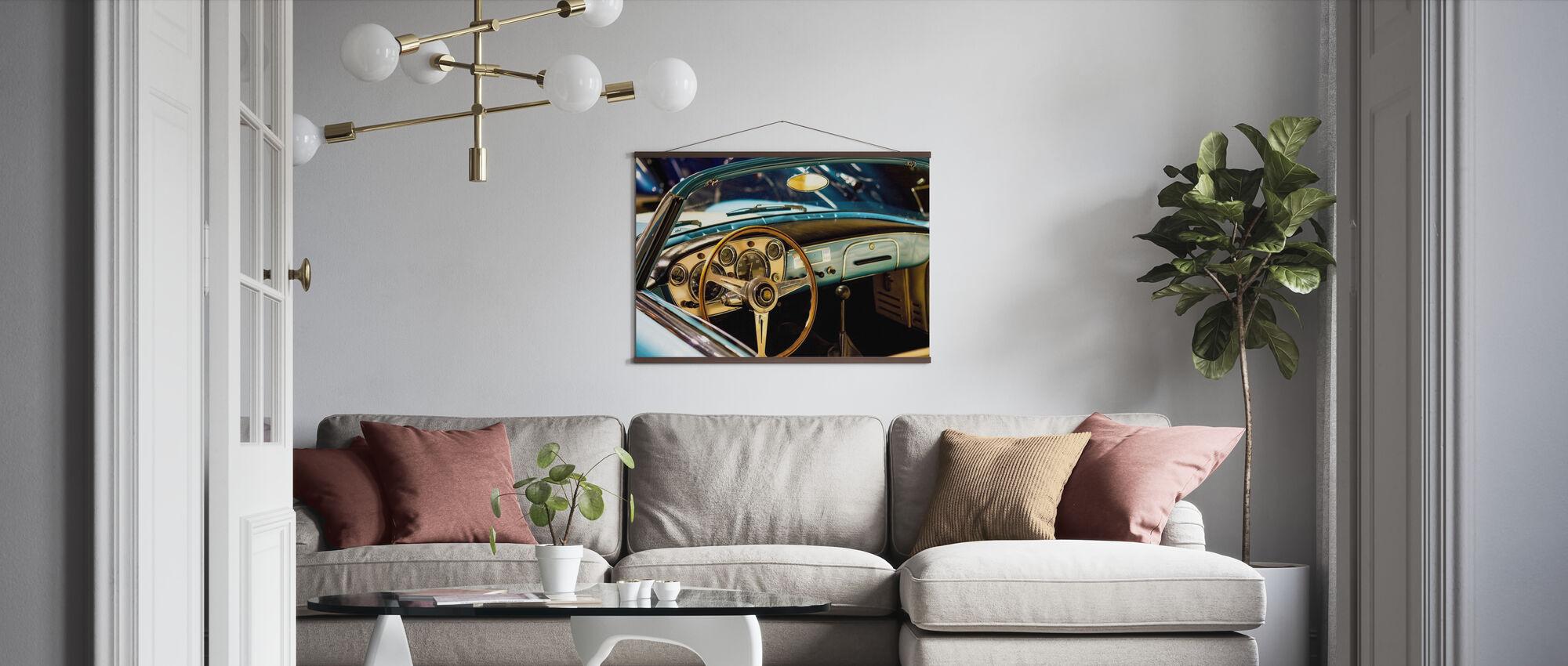 Klassisk Maserati - Plakat - Stue