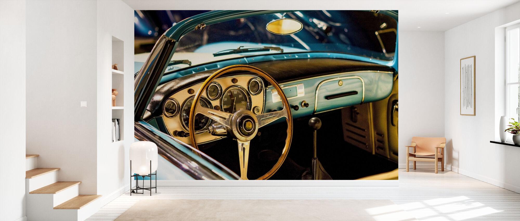 Classic Maserati - Wallpaper - Hallway