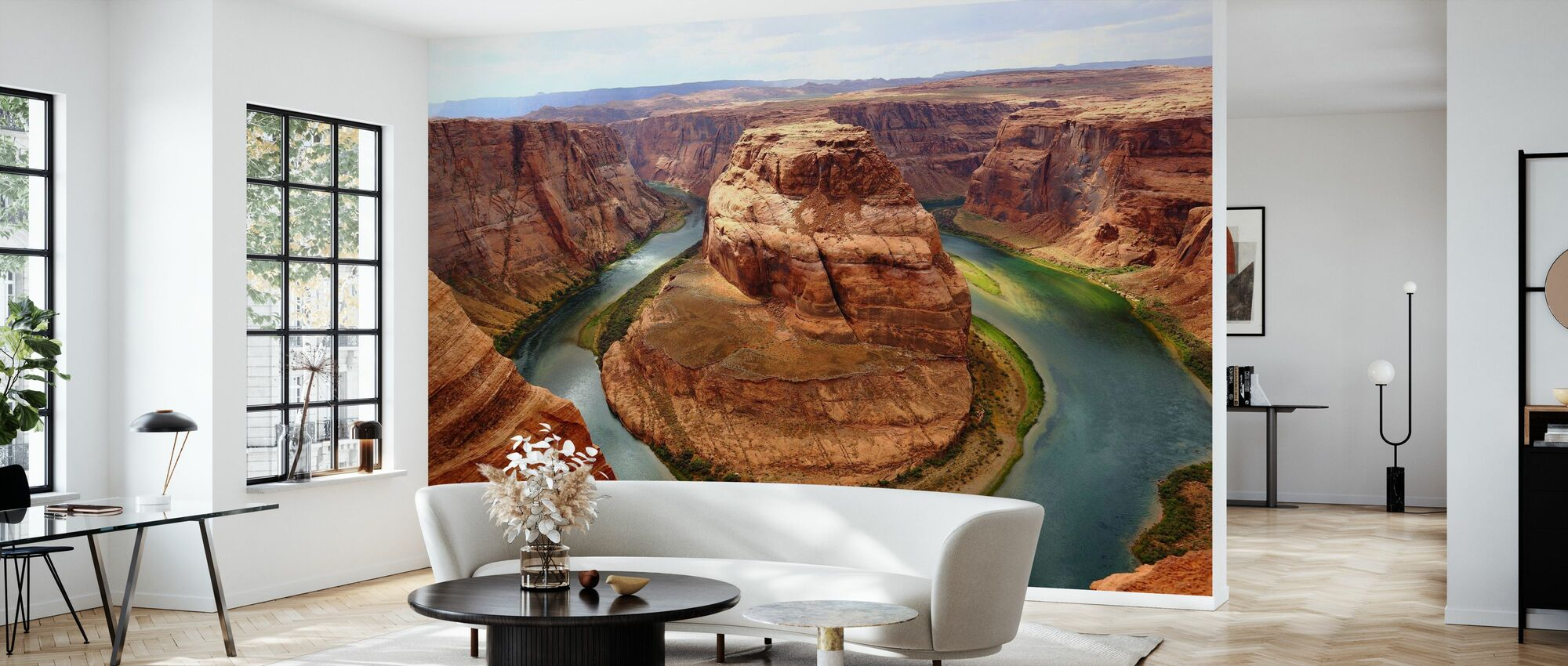 Horseshoe Bend - Wallpaper - Living Room
