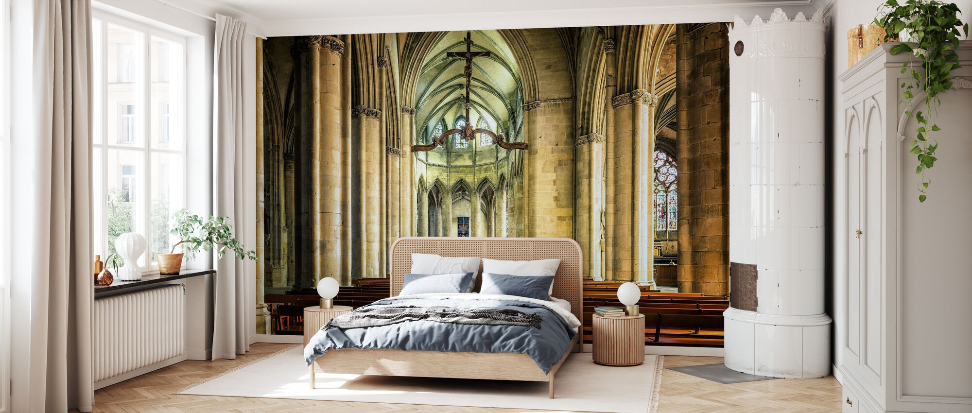 Cathedral - Wallpaper - Bedroom