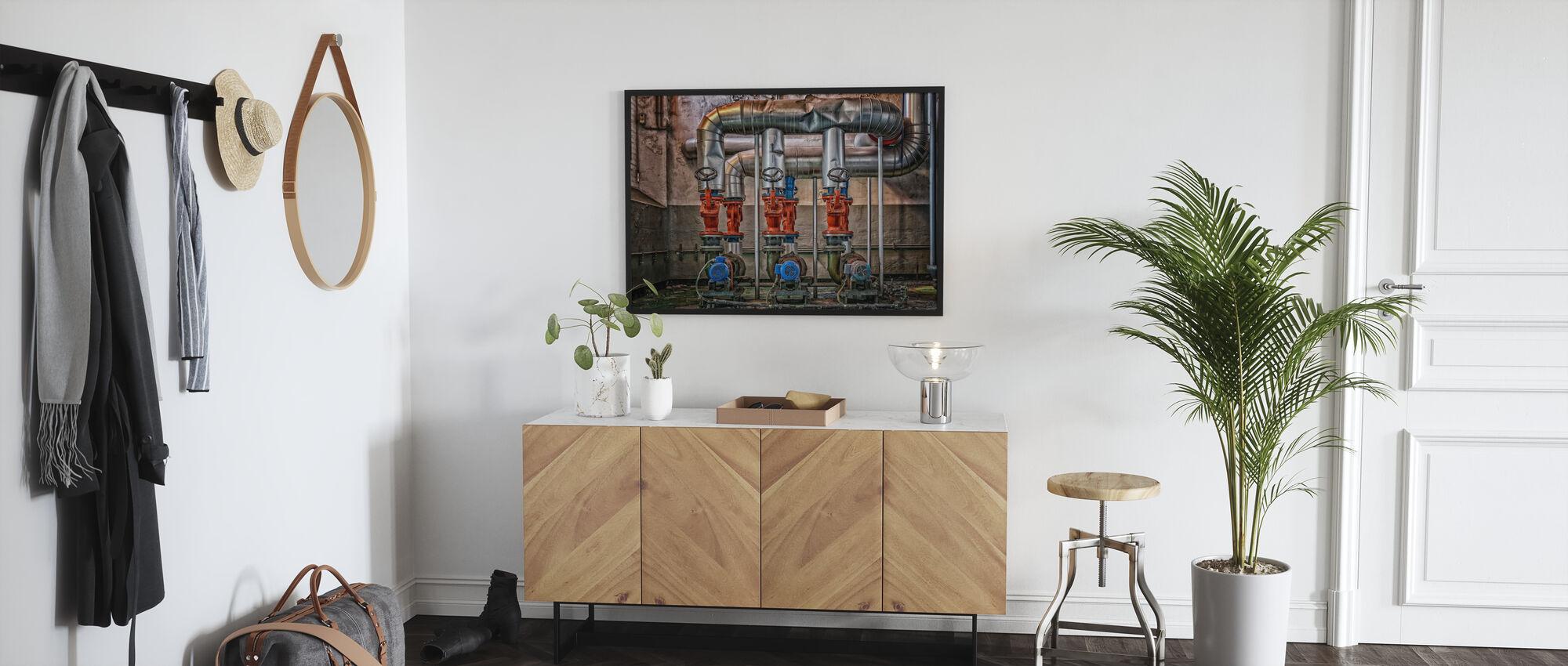 Boiler House - Poster - Hallway