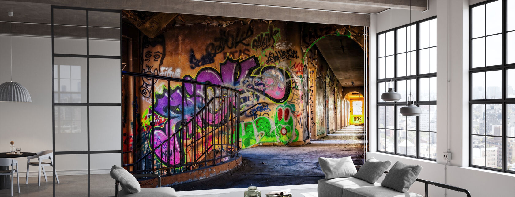 Colorful Grafitti - Wallpaper - Office