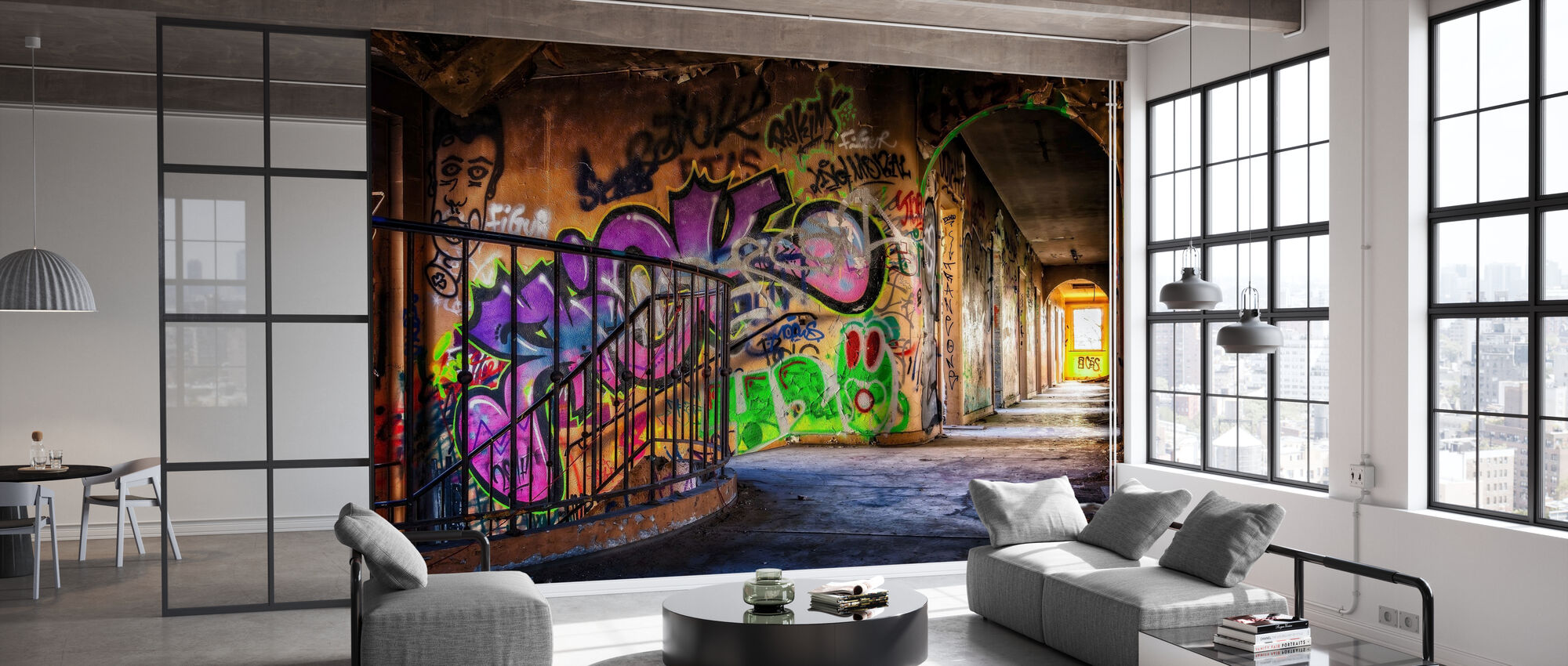Colorful Grafitti - Wallpaper - Office